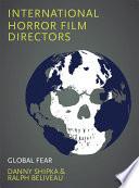 International Horror Film Directors
