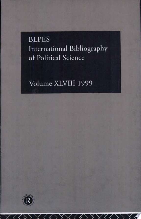International Bibliography of Political Science