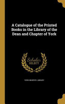 CATALOGUE OF THE PRINTED