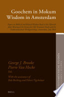 Goochem In Mokum Wisdom In Amsterdam
