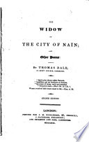 The Widow of the City of Na  n  and Other Poems     Second Edition