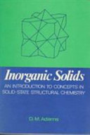 Inorganic Solids