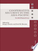 Cooperative Security in the Asia Pacific