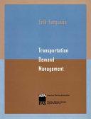 Transportation Demand Management Book