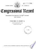 Congressional Record  : Proceedings and Debates of the ... Congress