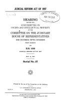 Judicial Reform Act of 1997