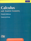 Calculus And Analytical Geometry 9 e