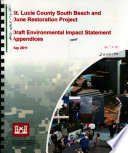 St. Lucie County South Beach and Dune Restoration Project