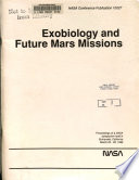 Exobiology and Future Mars Missions
