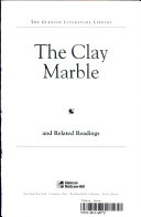 The clay marble and related readings