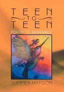 Teen to Teen Book PDF