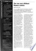 Commonwealth Currents  , Edição 1;Edições 3-4