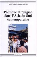 Pdf Politique et religion dans l'Asie du Sud contemporaine Telecharger