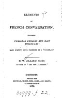 Elements of French conversation