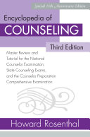 Encyclopedia of Counseling  Third Edition Book