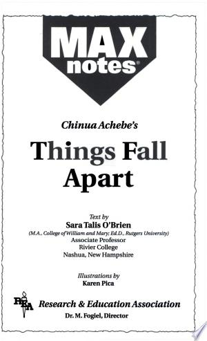 Free Download Things Fall Apart (MAXNotes Literature Guides) PDF - Writers Club