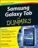 Samsung Galaxy Tab For Dummies