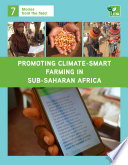 Promoting climate-smart farming in sub-Saharan Africa