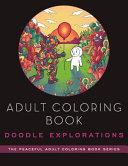 Adult Coloring Book  Doodle Explorations