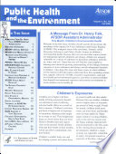 Public Health and the Environment