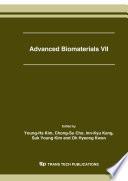 Advanced Biomaterials VII