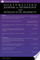 Northwestern Journal Of Technology Intellectual Property Vol 10 3
