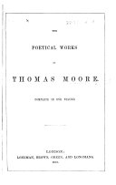 Pdf The Poetical Works of Thomas Moore, Etc. [With a Portrait.]