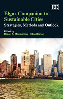 Pdf Elgar Companion to Sustainable Cities Telecharger