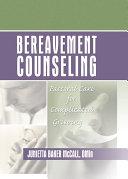 Bereavement Counseling [Pdf/ePub] eBook
