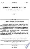 Chemical Warfare Bulletin