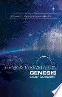 Genesis to Revelation: Genesis Participant Book [Large Print]