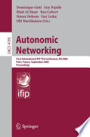 Autonomic Networking