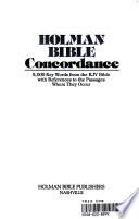 Holman Bible Concordance