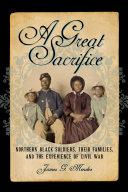A Great Sacrifice Book