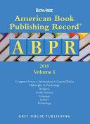 American Book Publishing Record Annual 2 Vol Set 2010