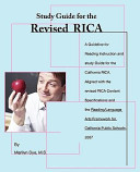 A Study Guide for the Revised Rica
