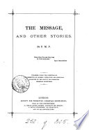 The message  and other stories  by P M P  Book