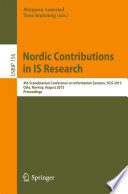 Nordic Contributions In Is Research Book PDF