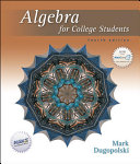 Algebra For College Students [Pdf/ePub] eBook