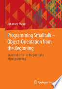 Programming Smalltalk     Object Orientation from the Beginning