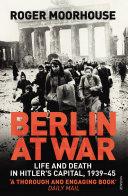 Berlin at War Book