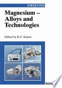 Magnesium Alloys and Technologies Book