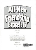 All New Friendship Bracelets