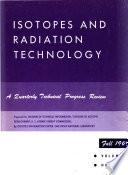 Isotopes and Radiation Technology Book
