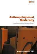 Anthropologies of Modernity