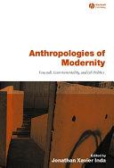 Pdf Anthropologies of Modernity