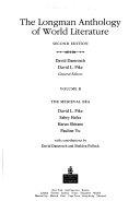 The Longman Anthology Of World Literature The Medieval Era