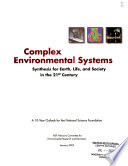 Complex Environmental Systems