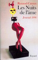 Les Nuits de l'âme - Journal 1996