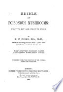Edible and Poisonous Mushrooms Book